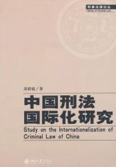 中国刑法国际化研究刑事法律论丛