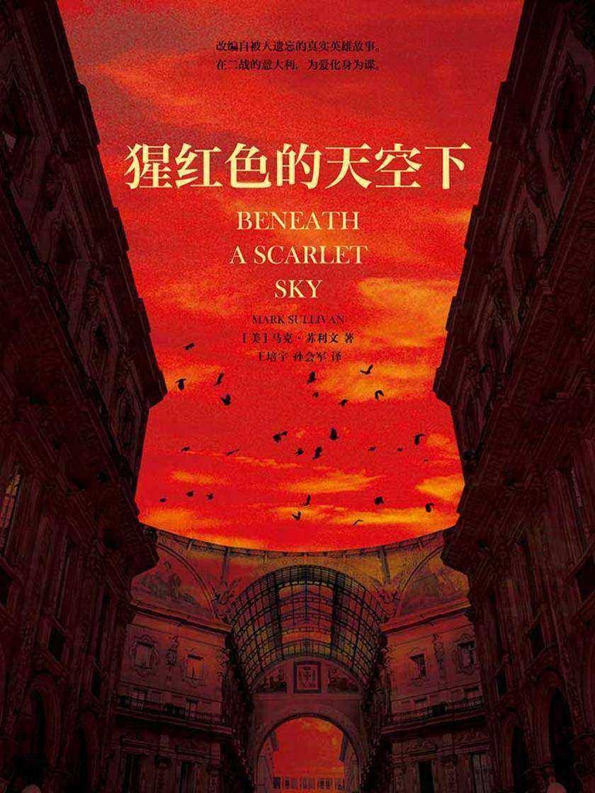猩红色的天空下