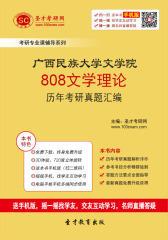 广西民族大学文学院808文学理论历年考研真题汇编