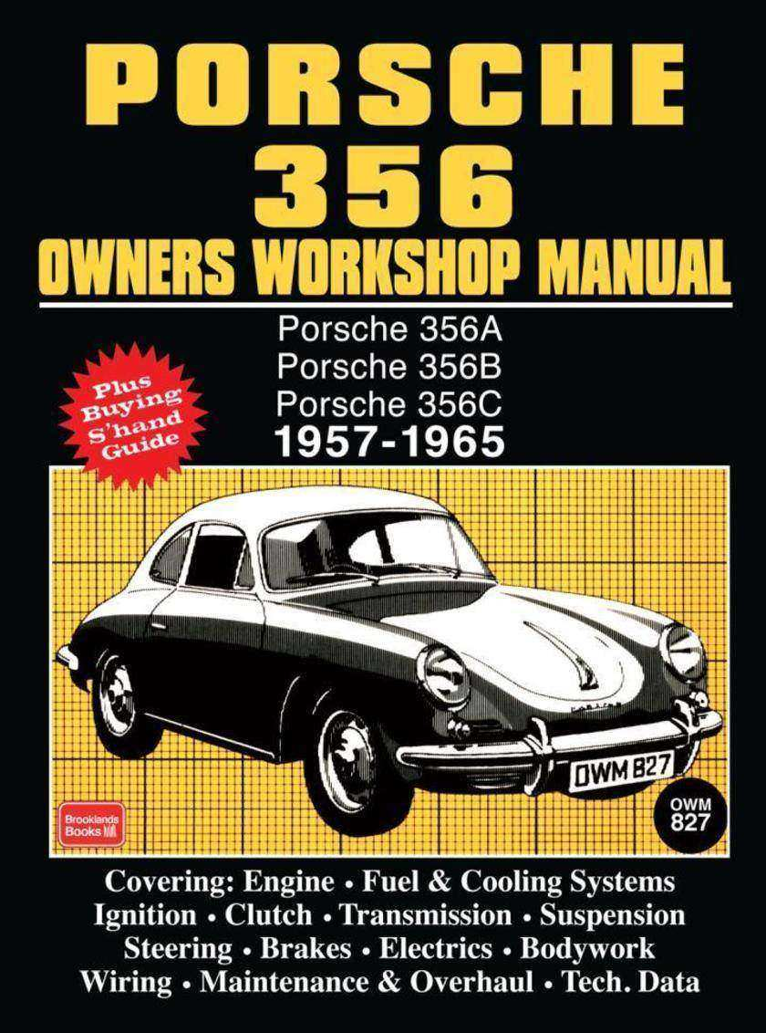 Porsche 356 Owners Workshop Manual 1957-1965