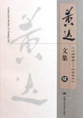 黄达文集(续):1999-2004