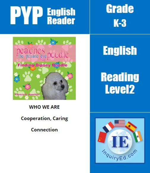 PYP: Reader-1- Animal Adventures Peaches the Private Eye Poodle: Finding Dipsey