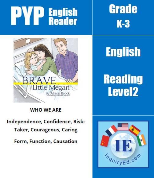 PYP: Reader- 2- Surgery Brave Little Megan