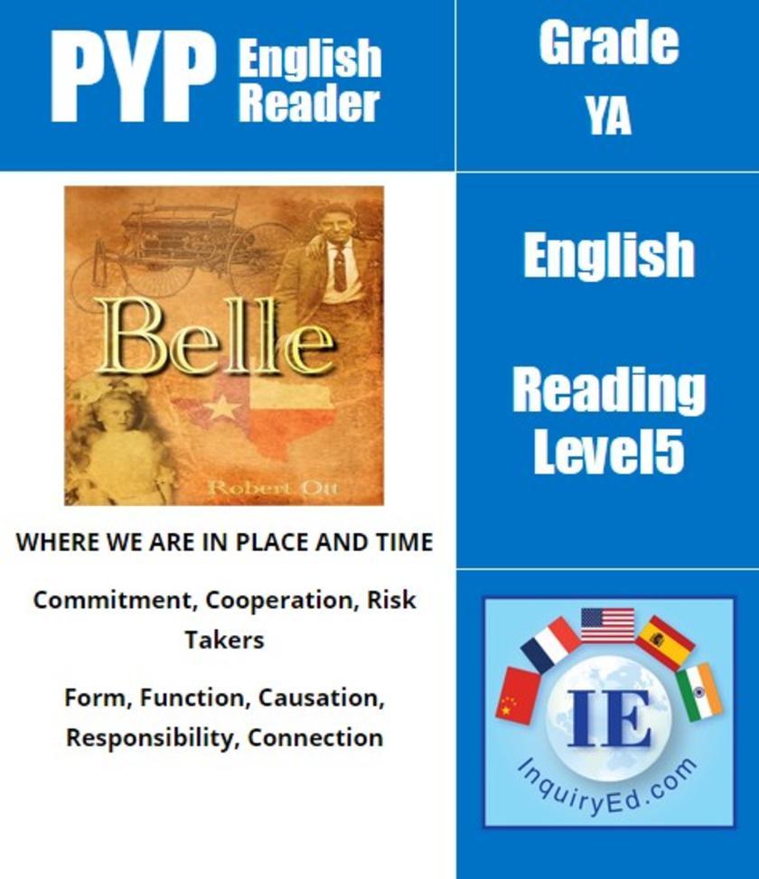 PYP: Reader- 3- History of Transportation, Texas USA Belle