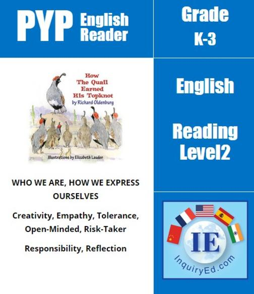 PYP: Reader-1- Bullying, Self-Esteem & Individuality How the Quail Earned His To