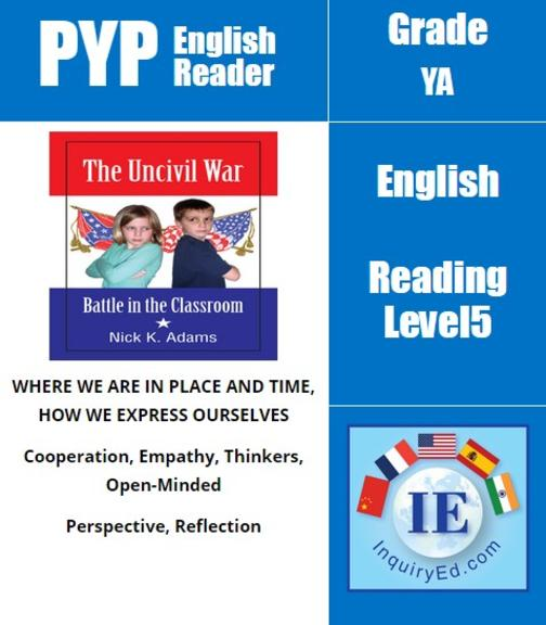 PYP: Reader-3- US History, Civil War The Uncivil War