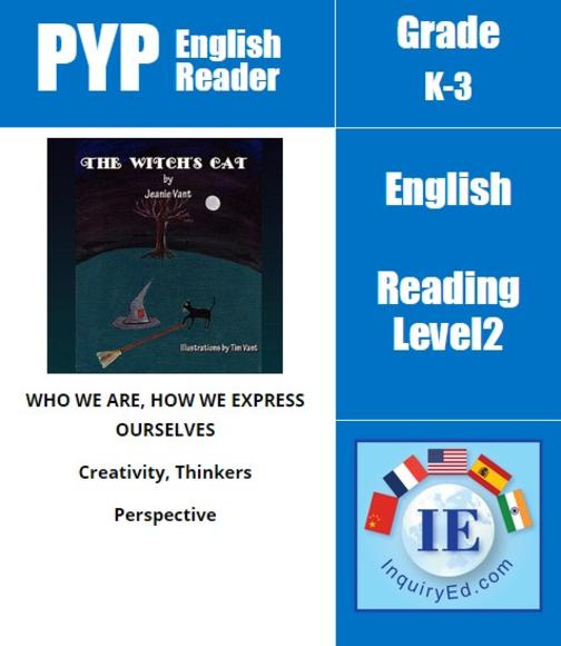 PYP: Reader-2- Halloween Adventure The Witch's Cat