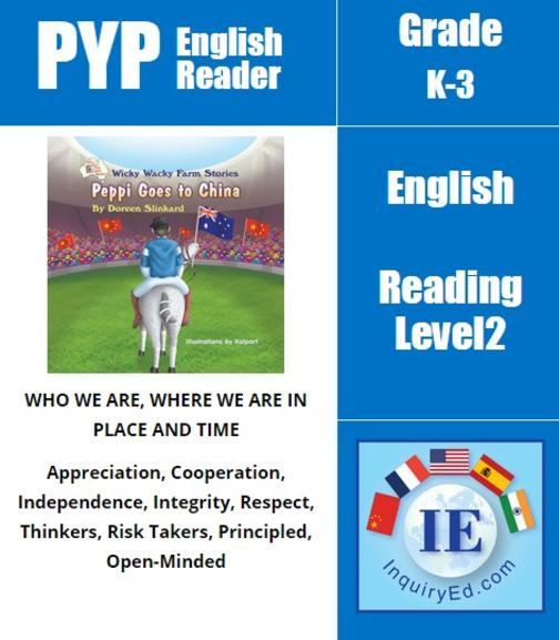 PYP: Reader-2- Horse Training & Confidence Wicky Wacky Farm Stories: Peppi Goes