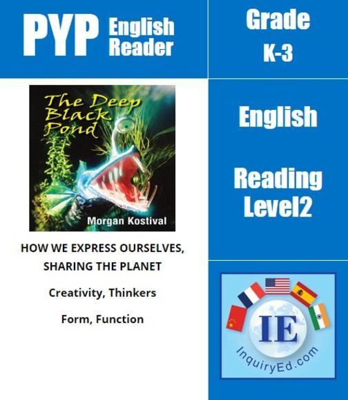 PYP: Reader-3- Pond Creatures The Deep Black Pond