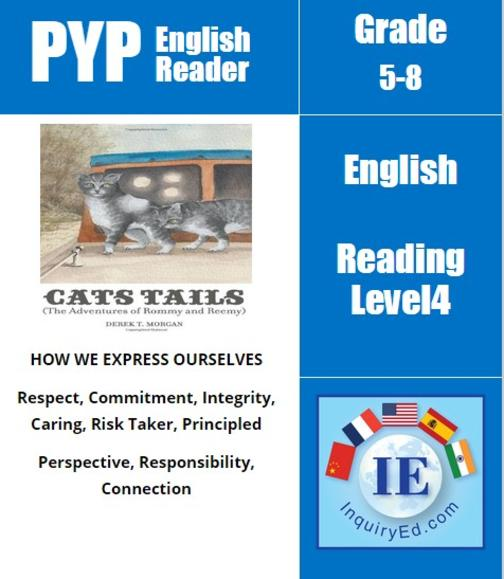 PYP: Reader- 3- Animal Adventures Cats Tails