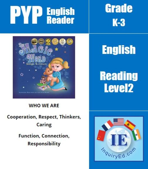 PYP: Reader-2-Manners, Emotions & Behaviors The Magic Word