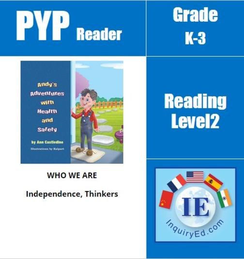 PYP: Reader- 1- Health & Safety Andy's Adventures with Health and Safety