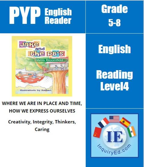 PYP: Reader-3- Time Travel Adventure Jake and the PB's