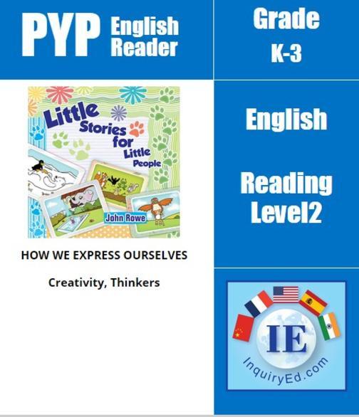PYP: Reader-1- Problem Solving Little Stories for Little People