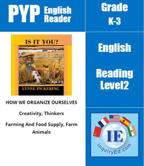 PYP: Reader-1- Animals Sounds Is It You?