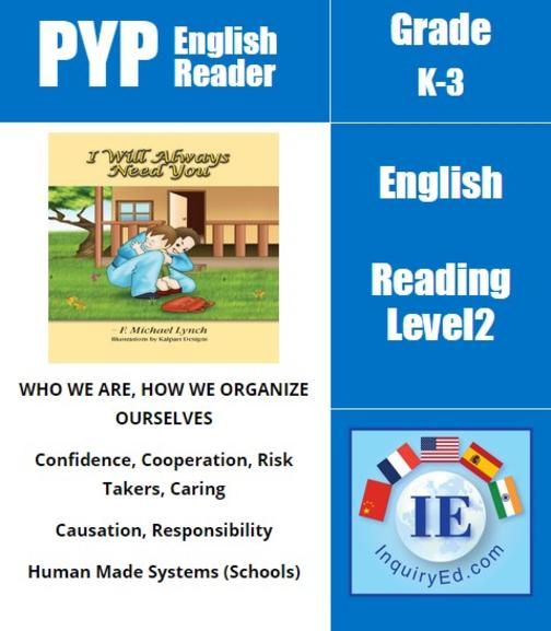 PYP: Reader-1- School, Fears, Self-Confidence I Will Always Need You