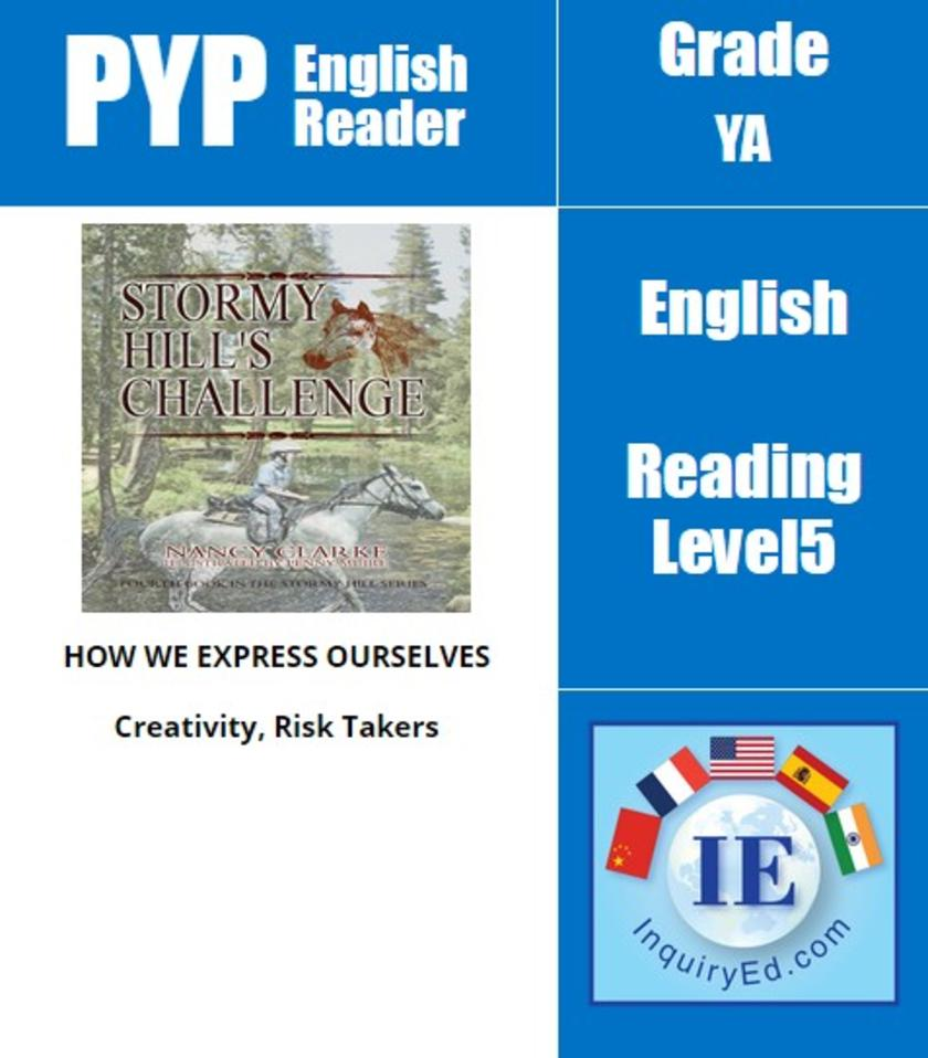 PYP: Reader-3- Horse Racing & Self-Confidence Stormy Hill's Challenge