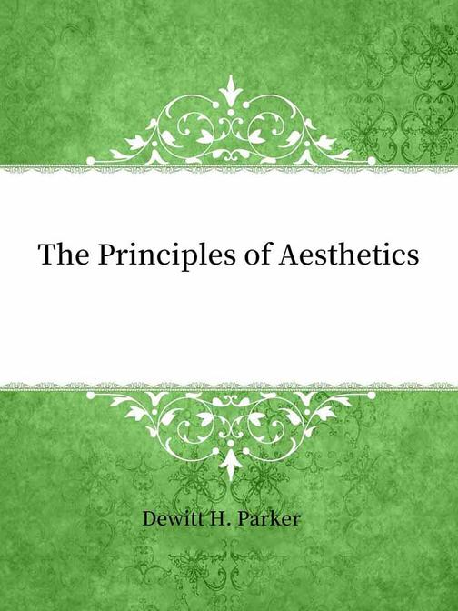 The Principles of Aesthetics