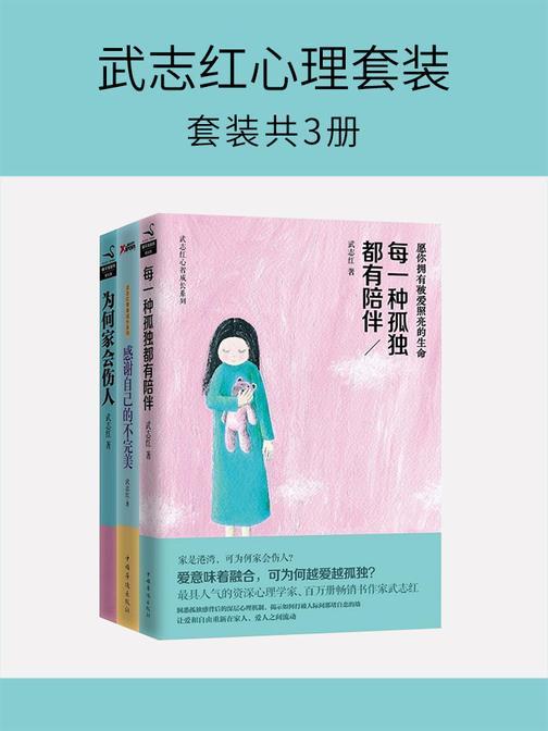 武志红心理套装(套装共3册)