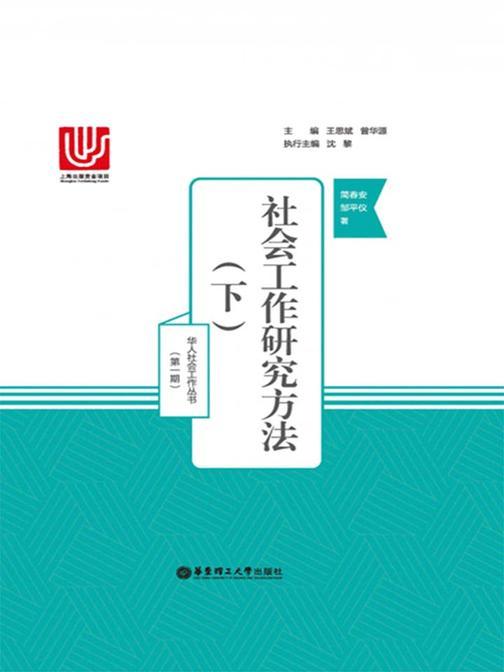 社会工作研究方法(下)