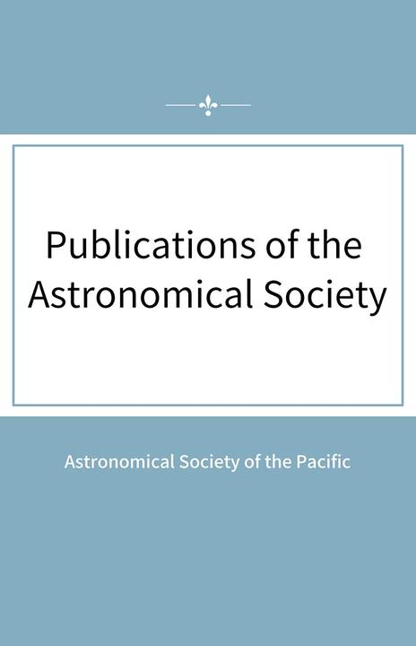 Publications of the Astronomical Society