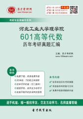 河北工业大学理学院601高等代数历年考研真题汇编