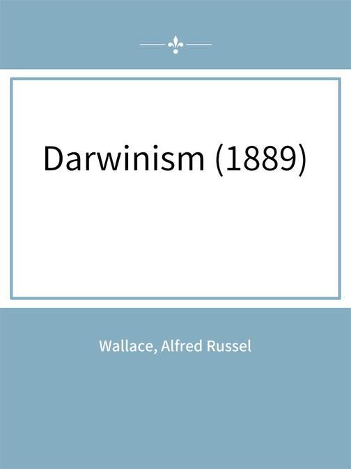 Darwinism (1889)