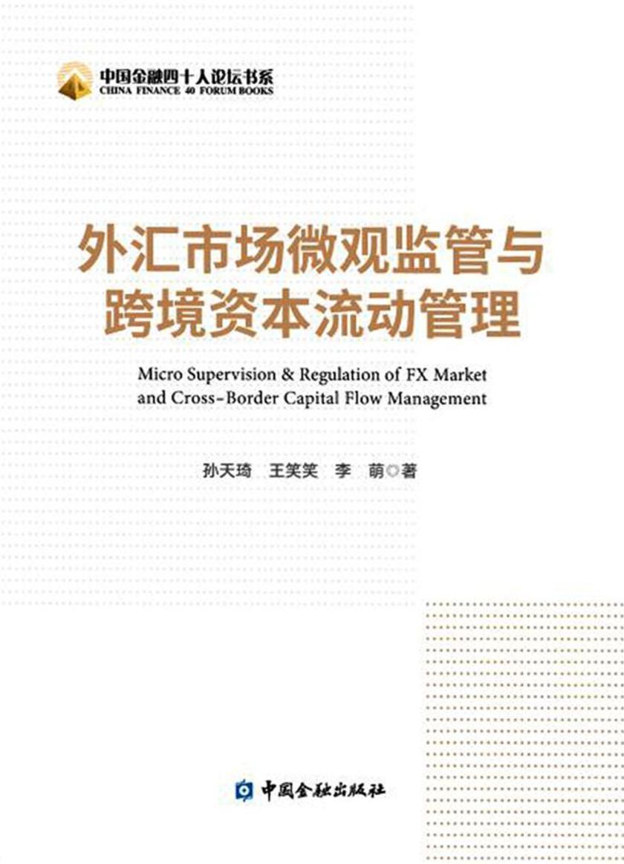外汇市场微观监管与跨境资本流动管理(中国金融四十人论坛书系)