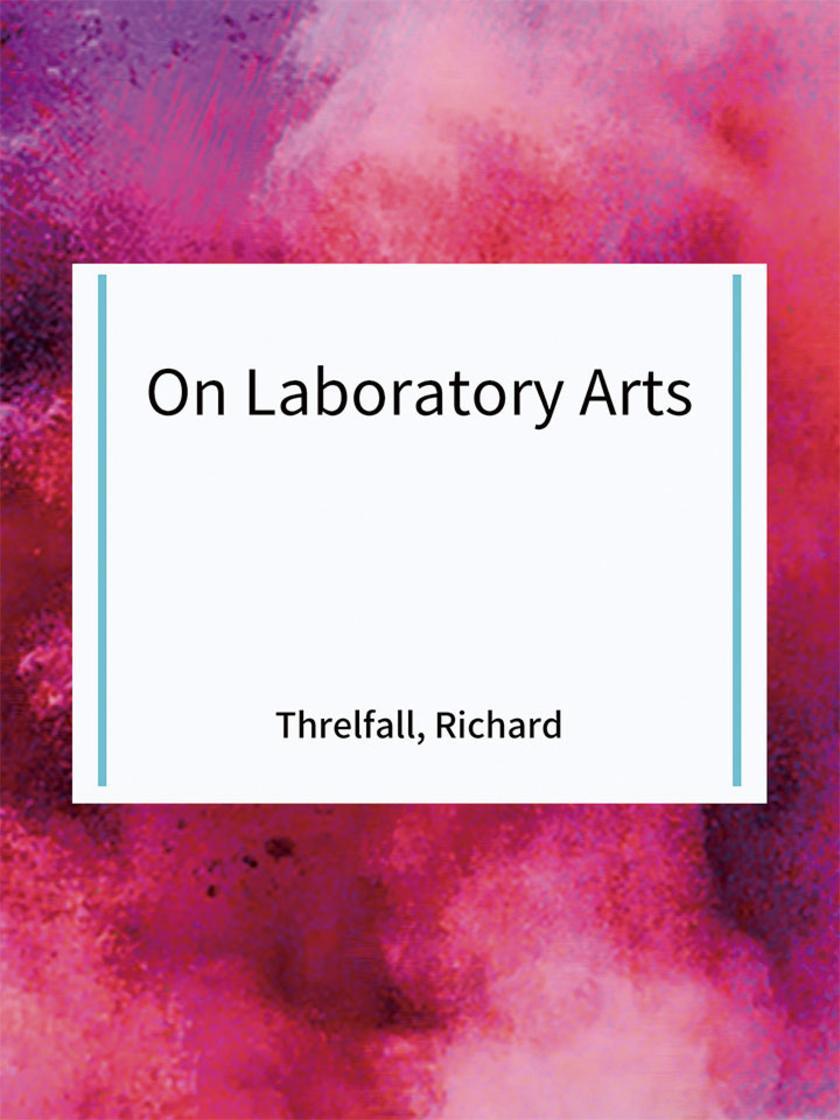 On Laboratory Arts