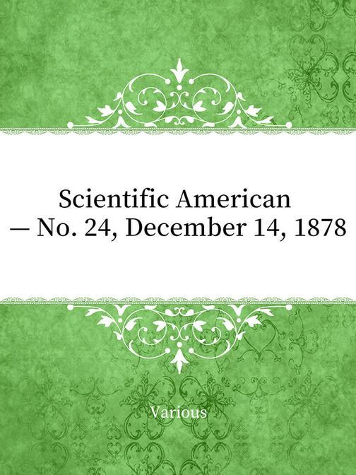Scientific American — No. 24, December 14, 1878