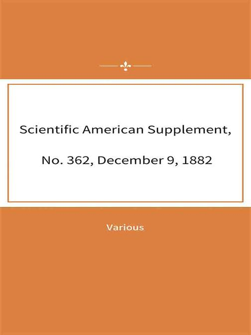 Scientific American Supplement, No. 362, December 9, 1882