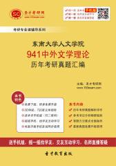 东南大学人文学院941中外文学理论历年考研真题汇编