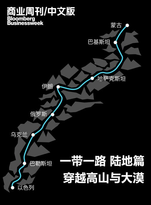 商业周刊中文版:一带一路穿越高山与大漠陆地篇(电子杂志)