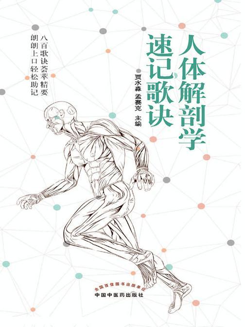 人体解剖学速记歌诀