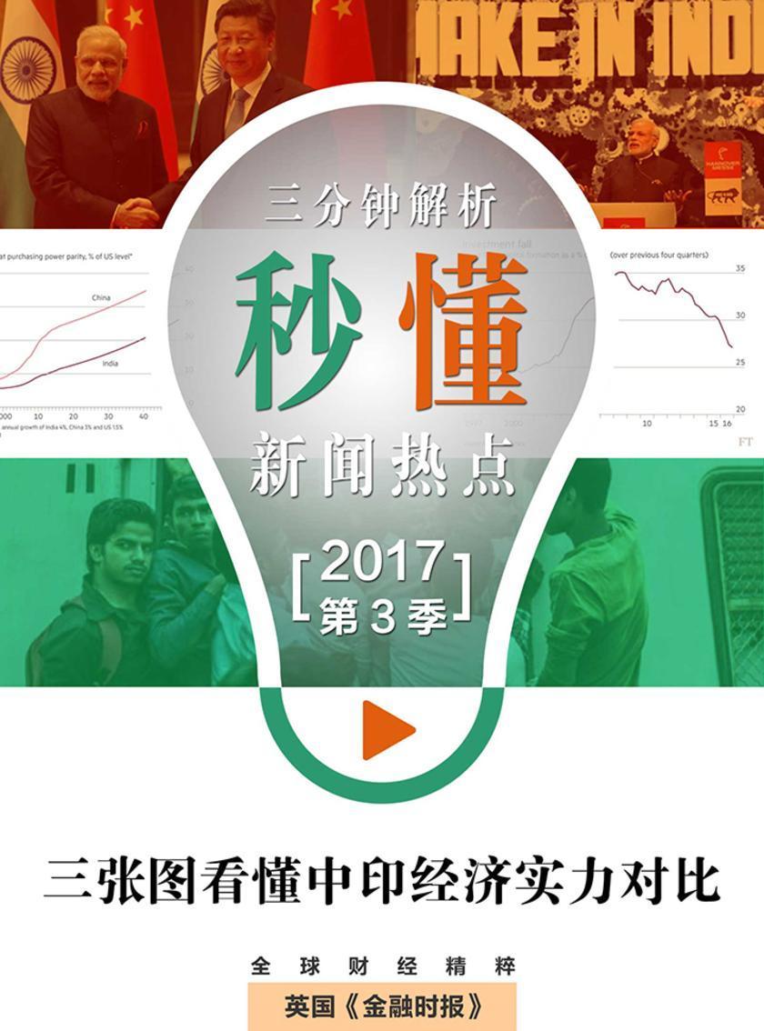 三张图看懂中印经济实力对比(秒懂新闻热点·2017年第3季)(电子杂志)