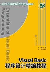 Visual Basic程序设计精编教程