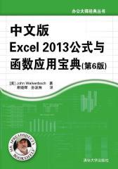 中文版Excel 2013 公式与函数应用宝典(第6 版)(试读本)(仅适用PC阅读)
