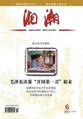 湘潮 月刊 2011年06期(电子杂志)(仅适用PC阅读)