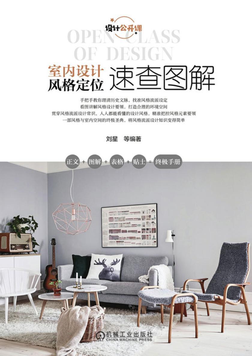 室内设计风格定位速查图解