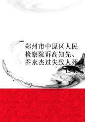 郑州市中原区人民检察院诉高知先、乔永杰过失致人死亡案