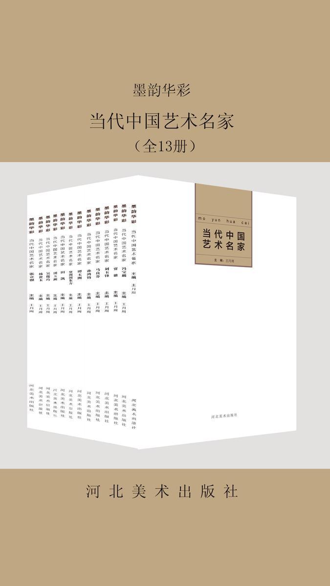 墨韵华彩——当代中国艺术名家(共13册)