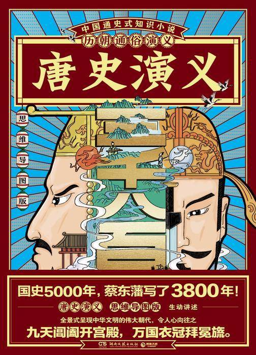 历朝通俗演义-唐史演义(思维导图版)
