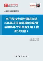 电子科技大学846英语语言学基础知识及运用历年考研真题汇编(含部分答案)