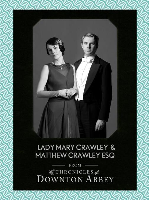 Lady Mary Crawley and Matthew Crawley Esq