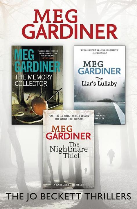Meg Gardiner 3-Book Thriller Collection