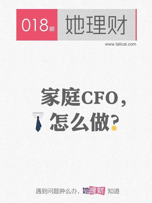 家庭CFO,怎么做(财蜜eMook)