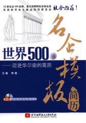 世界500强名企模板简历——迈进华尔街的简历