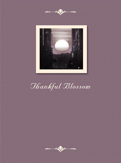 Thankful Blossom