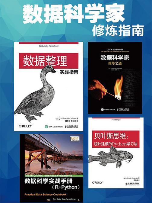 数据科学家修炼指南(套装共4册)