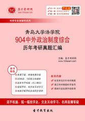 青岛大学法学院904中外政治制度综合历年考研真题汇编